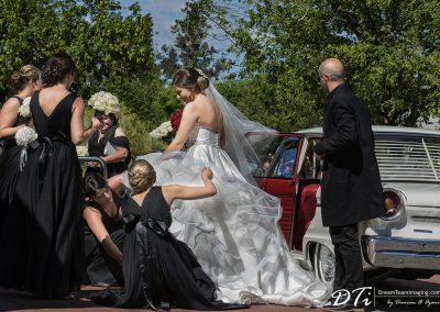 Best wedding photography adelaide bride dress 1