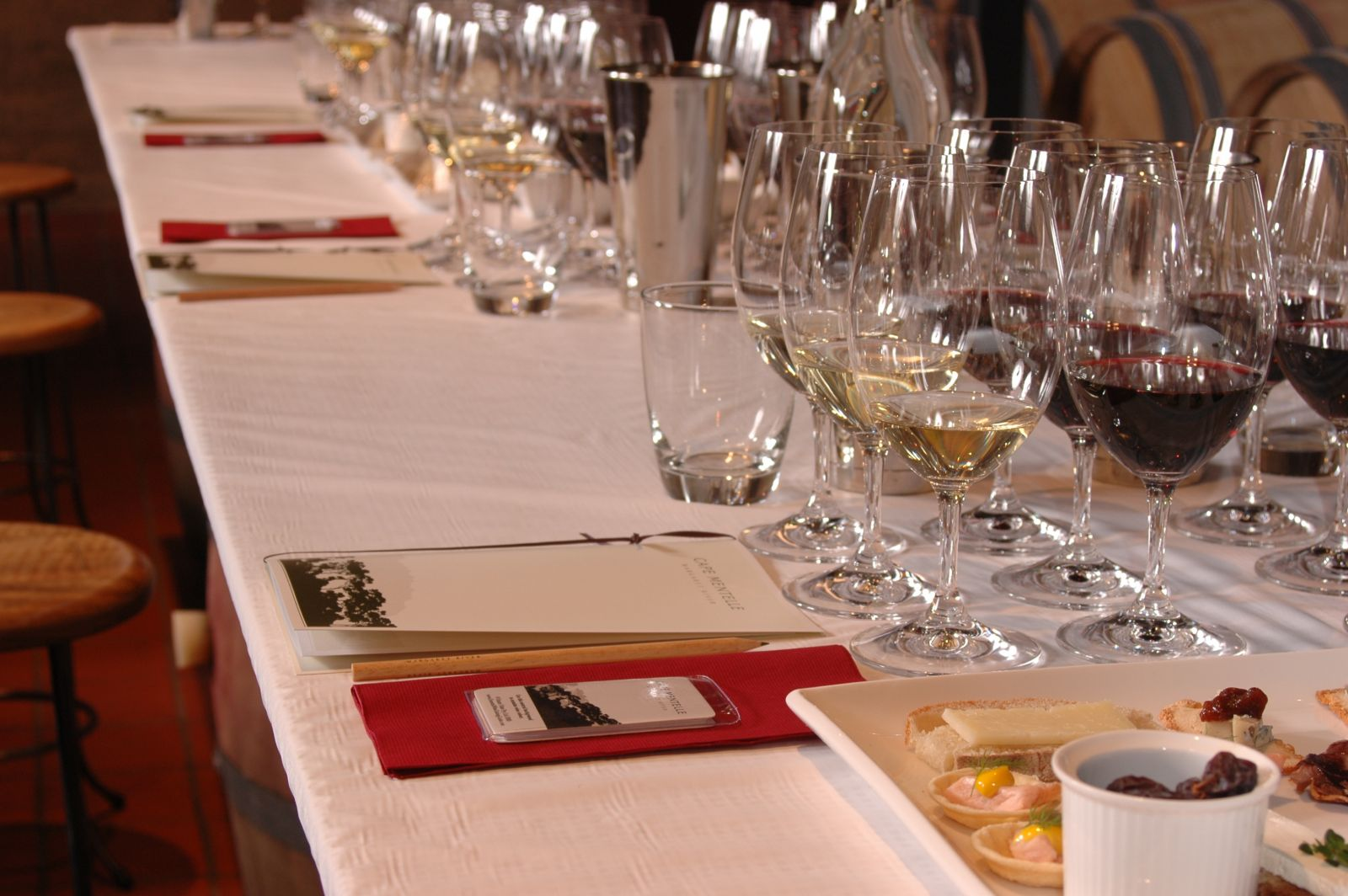 Wine Options Tasting Dinner