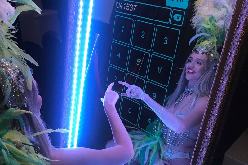Magic Mirror Booth - Optional 4, 5 or 6 hours